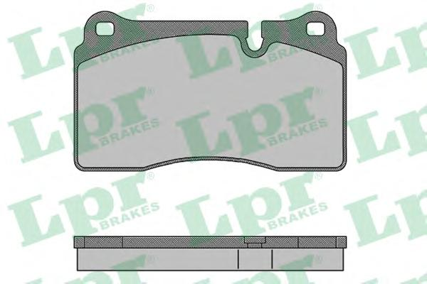 05P1505 Колодки тормозные RANGE ROVER III 4.2/SPORT 2.7D-4.2 05- передние