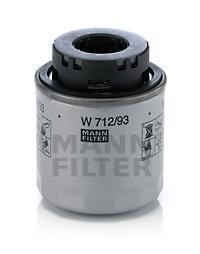 W71293 Фильтр масляный VAG 1.2/1.4 TFSI 06-