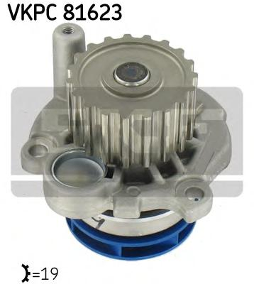 VKPC81623 Деталь VKPC81623 помпа! Audi A3, VW Go