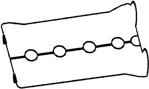 11087800 Прокладка клапанной крышки CHEVROLET AVEO/LACETTI/NUBIRA 1.4/1.6 03-