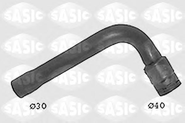 SWH6834 Патрубок радиатора AUDI A4/A6/VW PASSAT 1.8/2.0 97- верхний