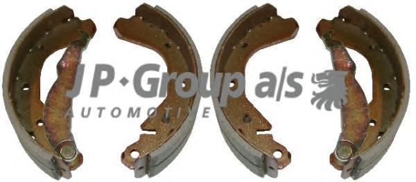1263900810 Колодки тормозные барабанные / OPEL Ascona-C,Vectra-A ,Kadett-D/E (200x45) 84~