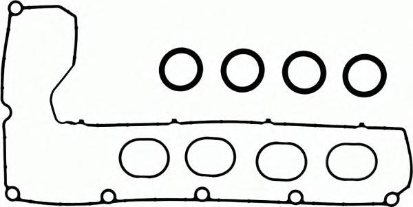 153657101 Прокладка клапанной крышки Citroen. Fiat. Peugeot 2.0HDi 16V 03
