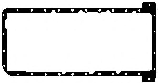 272520 Прокладка поддона BMW N62 01- верхняя