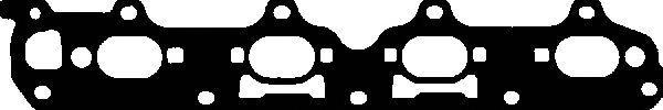 713428700 Прокладка коллектора Opel Vectra 2.2 16V X/Z22SE 00 Ex