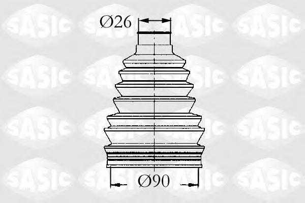 4003441 Пыльник ШРУСа RENAULT 19/21/ESPACE/LAGUNA 86-01 нар.