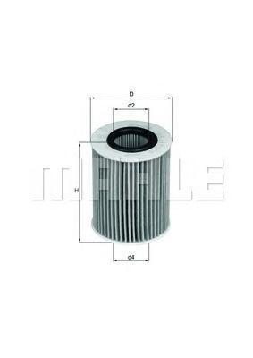 OX437D Фильтр масляный OPEL ASTRA H/MERIVA 1.7 CDTI