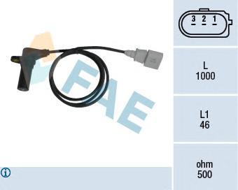 79064 Датчик частоты вращения, управление двигателем