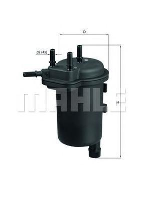 KL430 Фильтр топливный NISSAN ALMERA/MICRA/RENAULT CLIO II/KANGOO 1.5DCI 02-