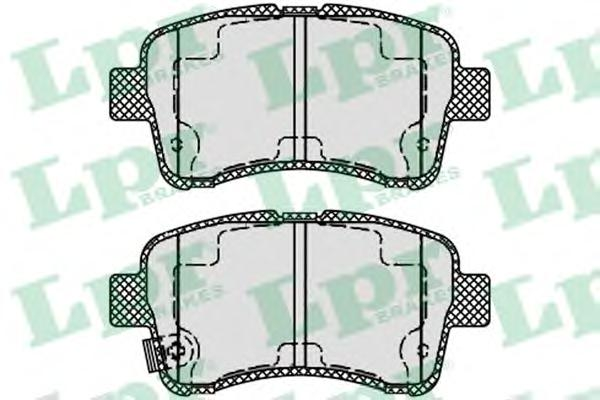 05P1541 Колодки тормозные SUZUKI AERIO/LIANA 1.3-1.6 01- передние