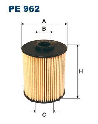PE962 Фильтр топливный MB W202/210 CDI
