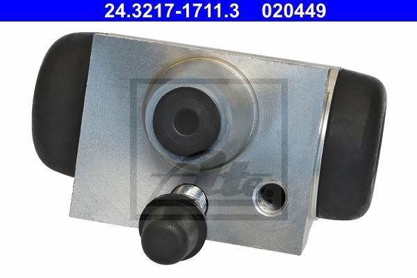 24321717113 Цилиндр тормозной рабочий DACIA: LOGAN (LS) 1.2 16V/1.2 16V LPG/1.4 (LSOA, LSOC, LSOE, LSOG)/1.4 MPI LPG (LS0C)/1.5