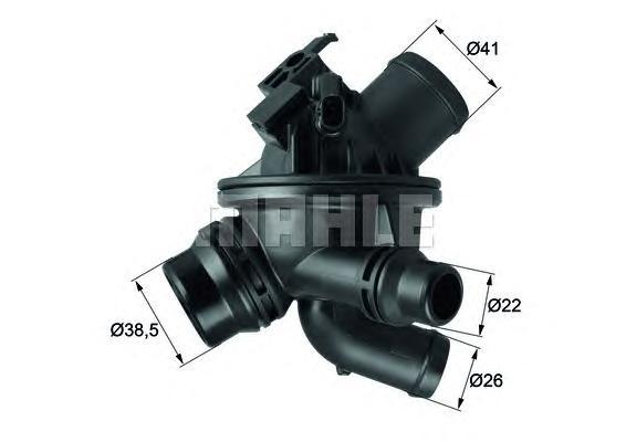 TM2197 Термостат BMW F01/F02/F10/F11 2.5-4.0 08-/10-