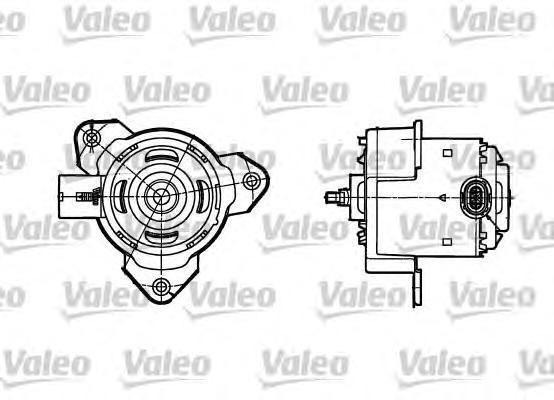 698302 Вентилятор радиатора RENAULT: CLIO II 1.2/1.5DCI 01-
