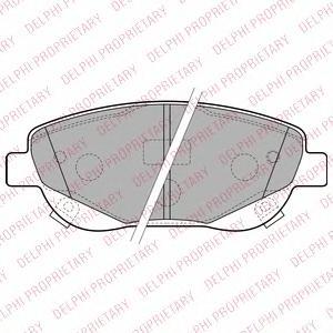 LP2207 Колодки тормозные TOYOTA AVENSIS/VERSO 2.2D 09- передние