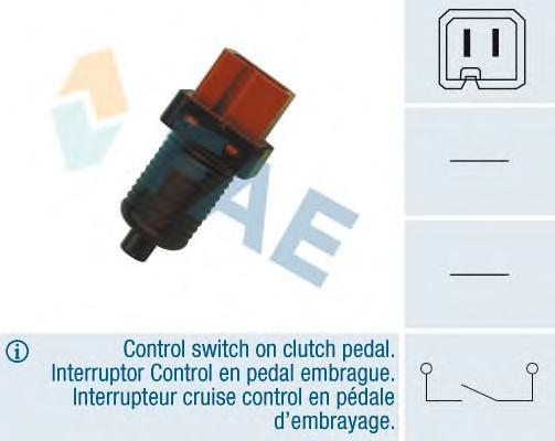 24880 Выключатель, привод сцепления PSA