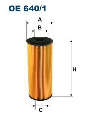 OE6401 Фильтр масляный VAG A4/A6/OCTAVIA/G4/PASSAT/SHARAN 1.9D-2.5D/FORD GALAXY 1.9D