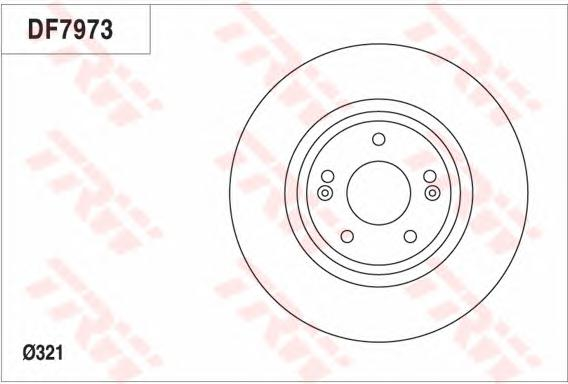 df7973 Тормозной диск