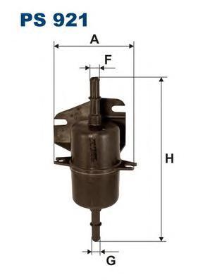 PS921 Фильтр топливный FIAT PALIO 1.0-1.5