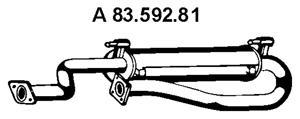 8359281 Глушитель SPRINTER 214/314 M111 95-06