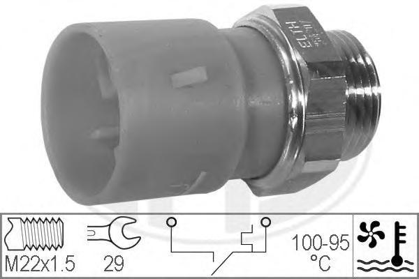 330301 Датчик включения вентилятора OPEL VECTRA A