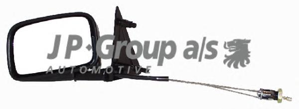 1189100770 Зеркало в сборе механическое левое / VW Golf-II,Jetta-II