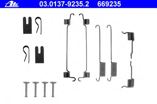 03013792352 Ремкомплект стояночного тормоза FORD - FOCUS (DAW, DBW) - 1.8 16V 10.98-11.04