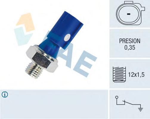 12841 Датчик давления масла MB A/B(W169/245)
