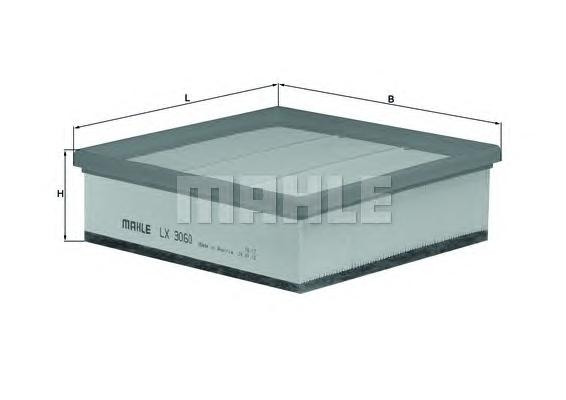 LX3060 Фильтр воздушный OPEL MERIVA 1.4 10-
