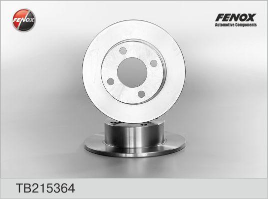 TB215364 Диск тормозной AUDI 80/90 86-96/100 82-90 задний D=245мм.