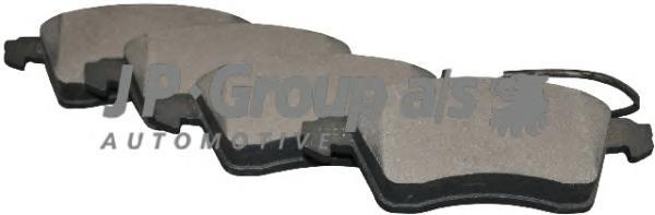 """1163603910 Колодки тормозные дисковые передние / VW Transporter T-4 колеса 15"""" (вентилир. диски ) (с датчиком) 2000~"""