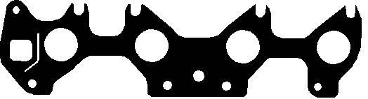 919382 Прокладка коллектора Opel Astra/Corsa 1.6i 91-98