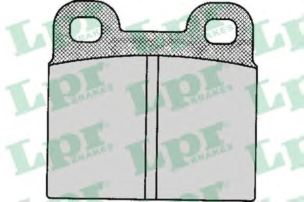 05P111 Колодки тормозные SAAB 900 2.0 78-94 задние