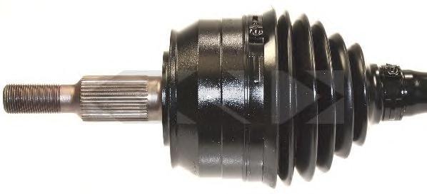 304503 Привод в сборе VW TRANSPORTER V 2.5TDI-3.2 03-09 лев. АКПП