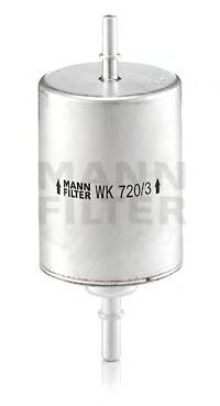WK7203 Фильтр топливный AUDI A4/A6 1.8T/2.4/3.0/4.2 00-