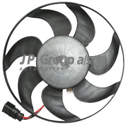 1199101980 Вентилятор радиатора (200Watt-295mm) / VW Eos, Golf V, Passat, Touran 1.4-3.2 03~