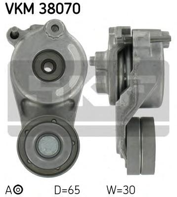 VKM38070 Натяжитель ремня приводного MB W203/204/211/906/639 OM642 05-