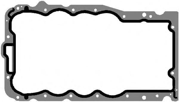 127760 Прокладка поддона OPEL 1.2/1.4 X12XE/Z12XE/Z14XE 98-