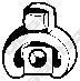 255394 Крепление глушителя RENAULT KANGOO 1.2-1.9 01-