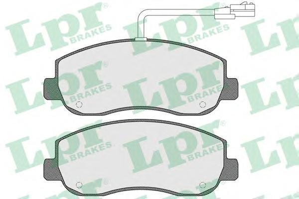 05P1579 Колодки тормозные OPEL MOVANO/RENAULT MASTER 10- передние