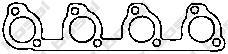 256129 Прокладка FOCUS II/FUSION 1.25-1.6