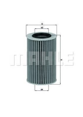 OX436D Фильтр масляный HYUNDAI SANTA FE/TUCSON/SPORTAGE