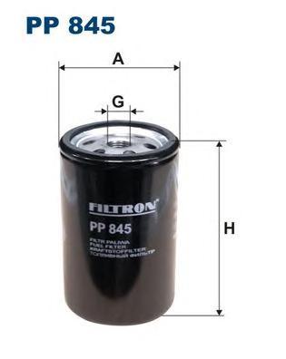 PP845 Фильтр топливный MAN/VOLVO/RENAULT/IVECO/SCANIA