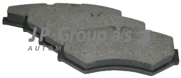 1163705610 Колодки тормозные дисковые задние / M.B Sprinter ;VW LT 28-46 96~