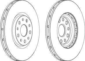 wgr14491 Тормозной диск