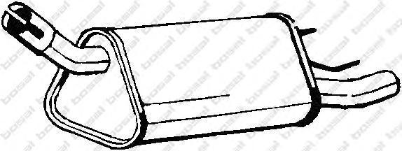 185339 Глушитель выхлопных газов конечный
