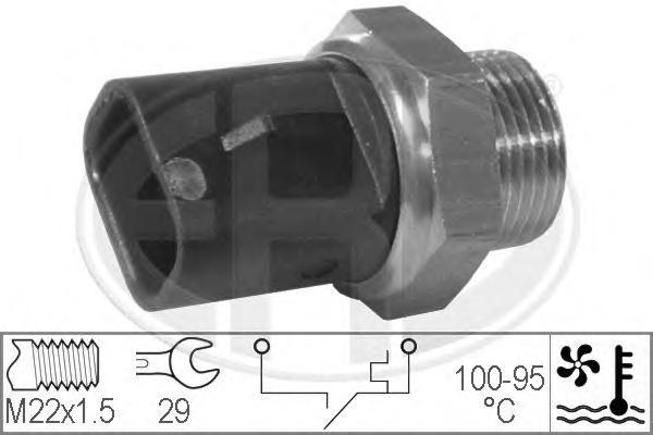 330277 Датчик включения вентилятора OPEL