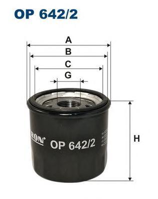 OP6422 Фильтp маслянный