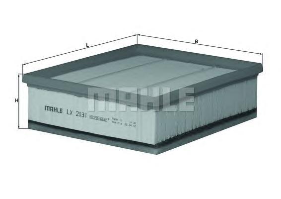 LX2031 Фильтр воздушный LAND ROVER DEFENDER 2.4TD