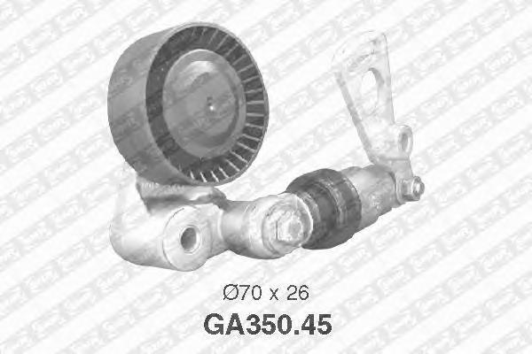 GA35045 Натяжитель ремня приводного BMW E38 M62
